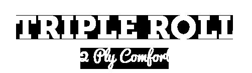 Triple Roll, 2-Ply Comfort